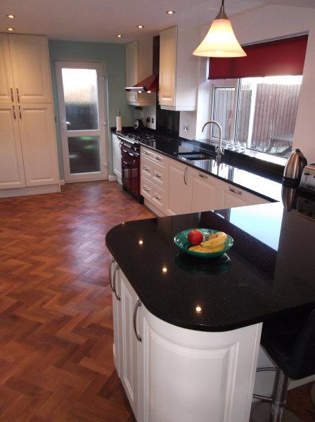 Mr mrs carter design works kitchens for Bespoke kitchen design nottingham