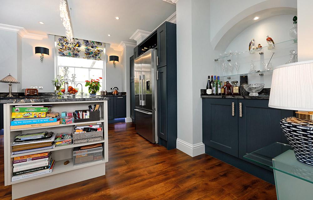 Mrs ford design works kitchens for Bespoke kitchen design nottingham